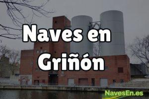 Naves industriales en Griñón.