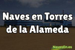 Construcción y reforma de naves industriales en Torres de la Alameda.