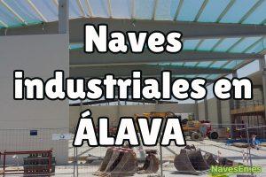 Naves industriales en Álava.